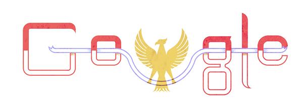 Peringatan Hari Kemerdekaan Indonesia ala Google